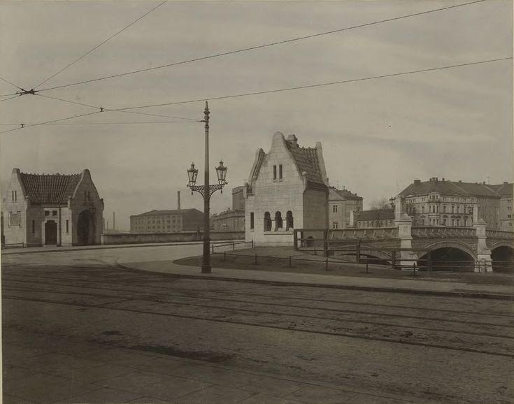 Most Pomorski południowy. 1905