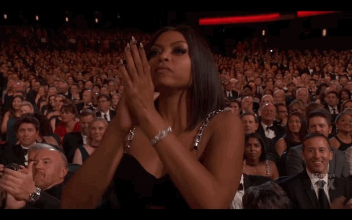 New party member! Tags: applause clapping agree taraji p henson standing ovation