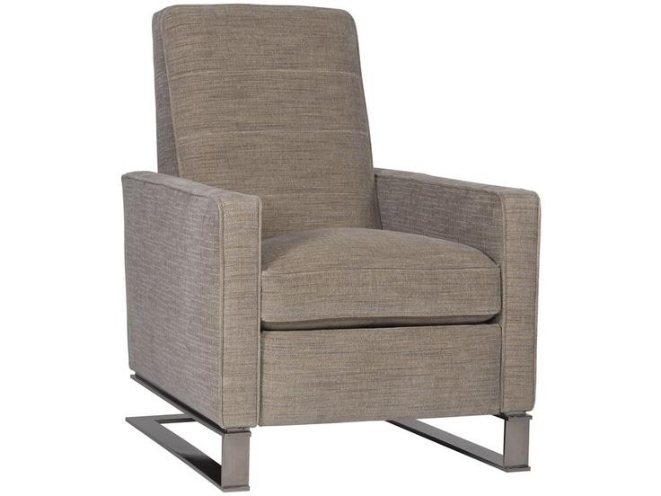 sleek modern recliner w184 chair by vanguard