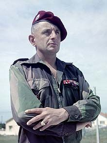 FRENCH ARMY GENERALS | General Marcel Bigeard, pin by Paolo Marzioli