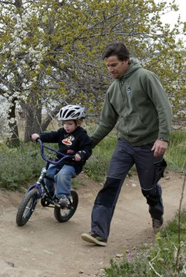 Tips on turning your kids onto mountain biking.