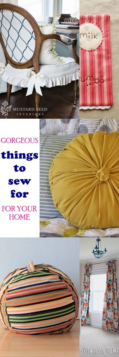 Things to sew for home   how to sew curtains   floor cushion tutorial   pillow tutorial