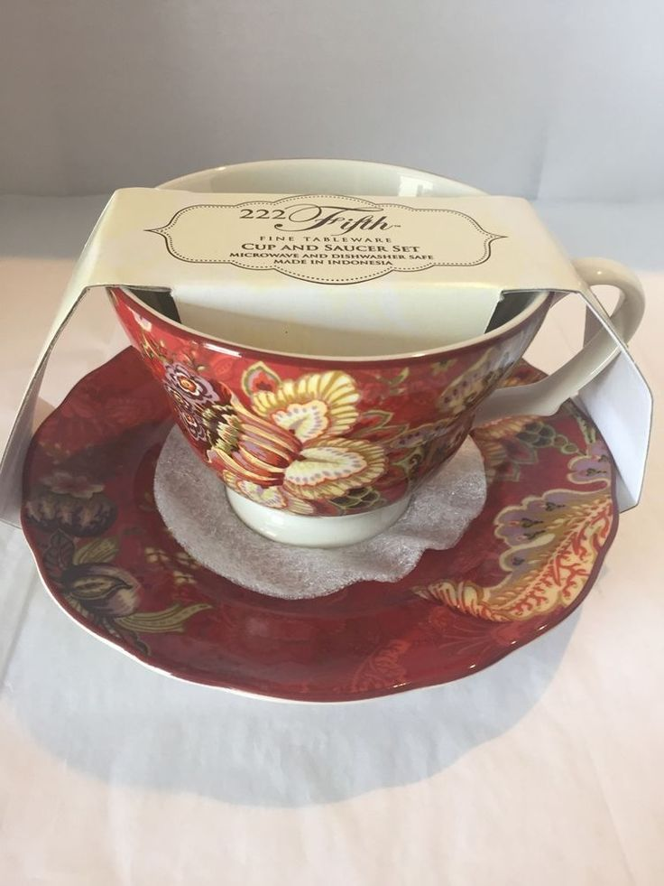 19 best 222 Fifth Gabrielle Red China images on Pinterest | Fine ...