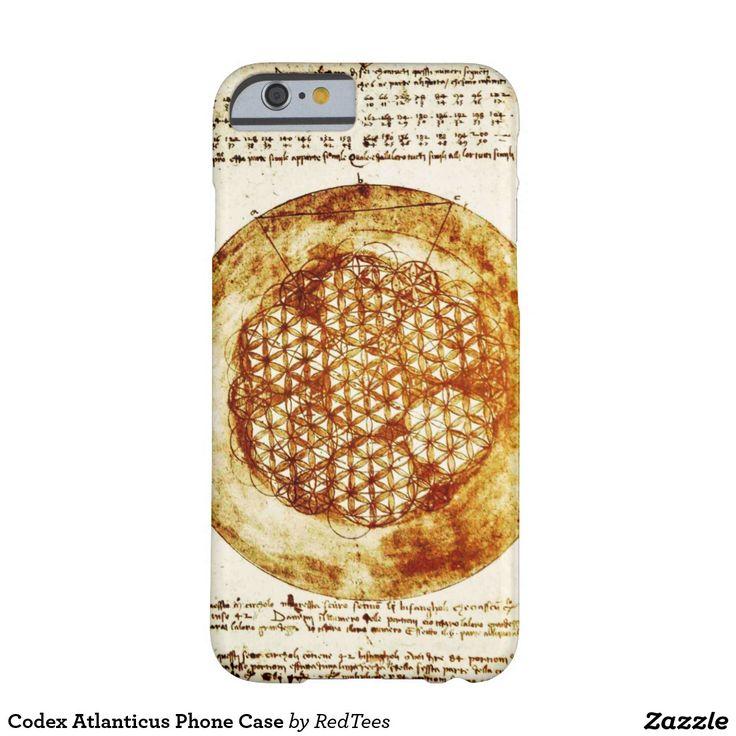 Codex Atlanticus Phone Case
