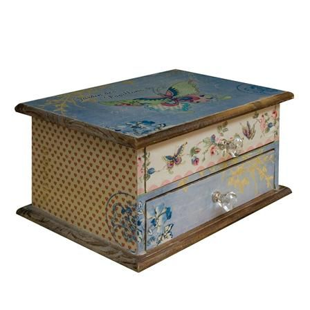 Butterfly 2 Drawer Mini Chest