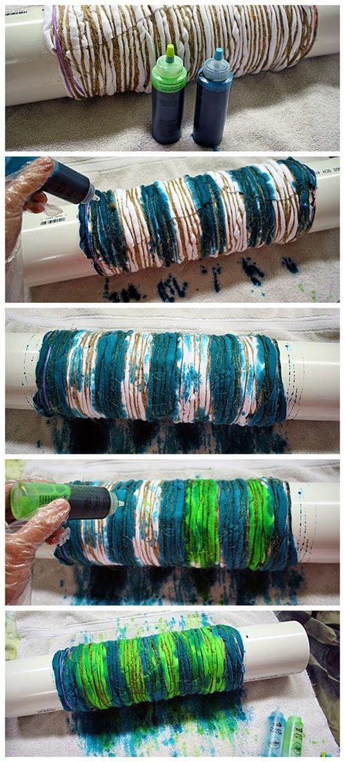 Tie dye using shibori technique / DIY