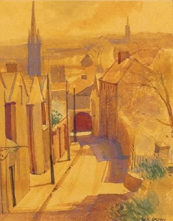 """St Peter's Place, Drogheda"" by Bea Orpen HRHA"