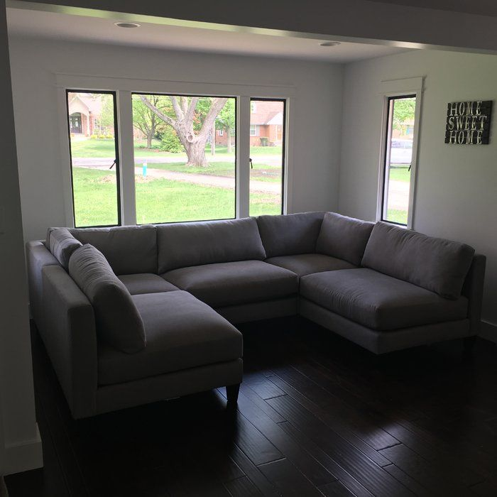 Fabulous Chelsea Symmetrical Modular Sectional With Ottoman In 2019 Dailytribune Chair Design For Home Dailytribuneorg
