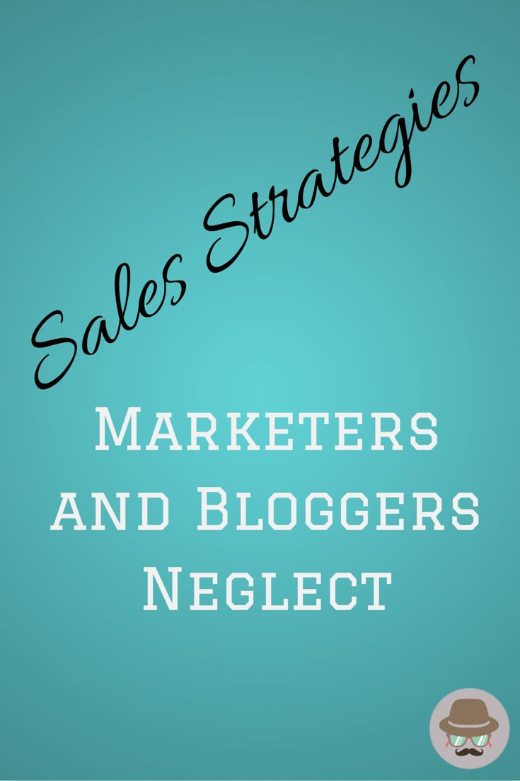 Bloggers and marketers often neglect sales strategies when they are running a marketing campaign. While their marketing efforts are a success they are not able to drive the sales they deserve.