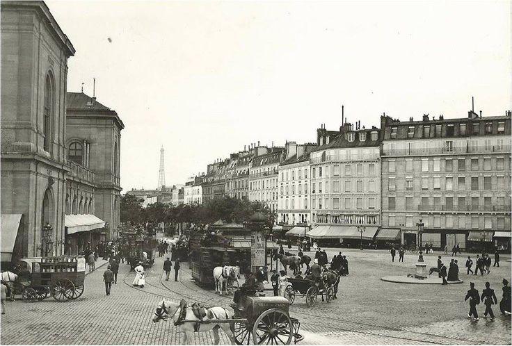 Paris 1900 l 39 agitation de la place de rennes aujourd 39 hui - Sortir a rennes aujourd hui ...