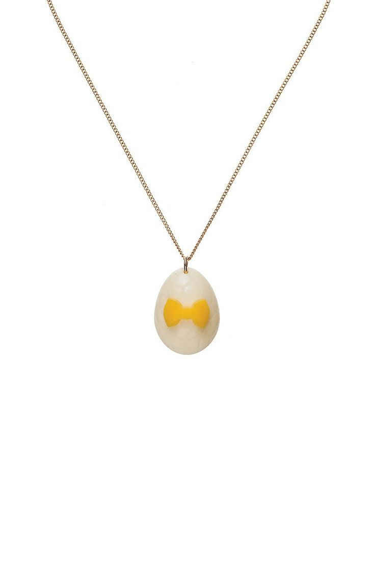 Easter Egg Necklace - White Chocolate, £30: http://www.tattydevine.com/easter-egg-necklace-white-chocolate.html