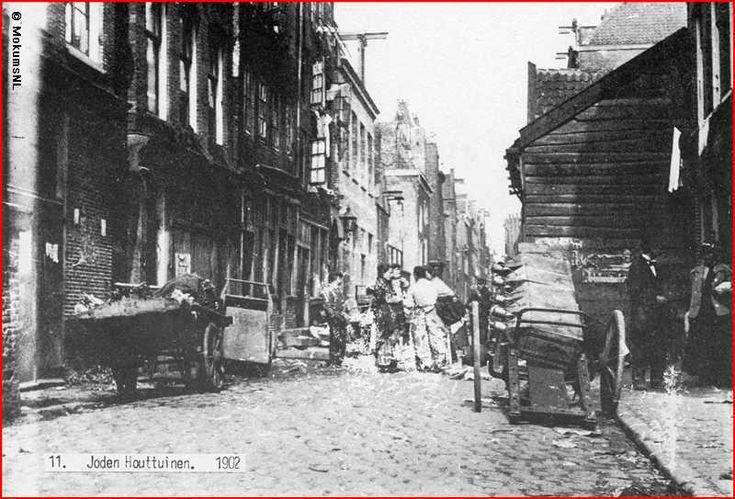 Amsterdam, Joden Houttuinen 1902.