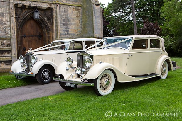 beautiful wedding cars