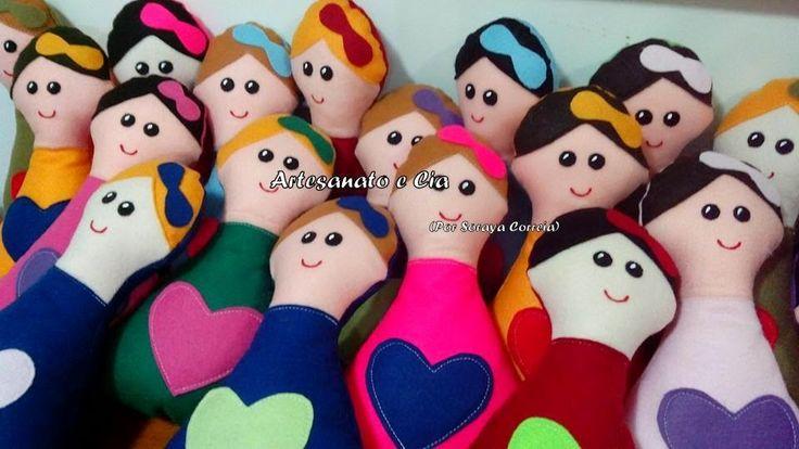 Artesanato e Cia : bonecas/bonecos em tecido