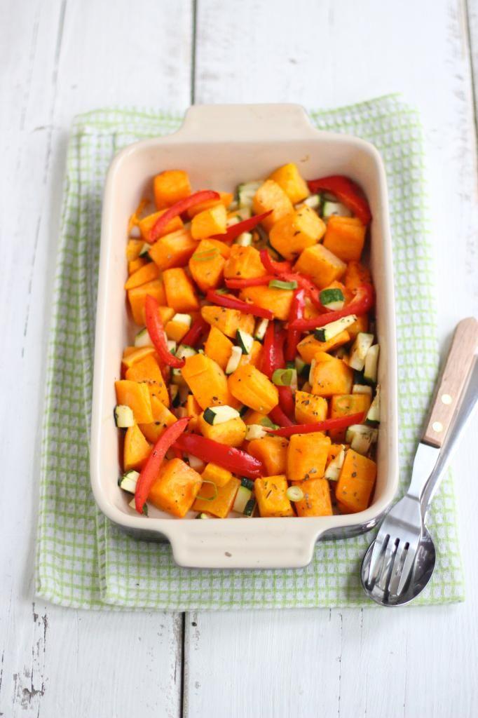 Geroosterde groenten uit de oven!