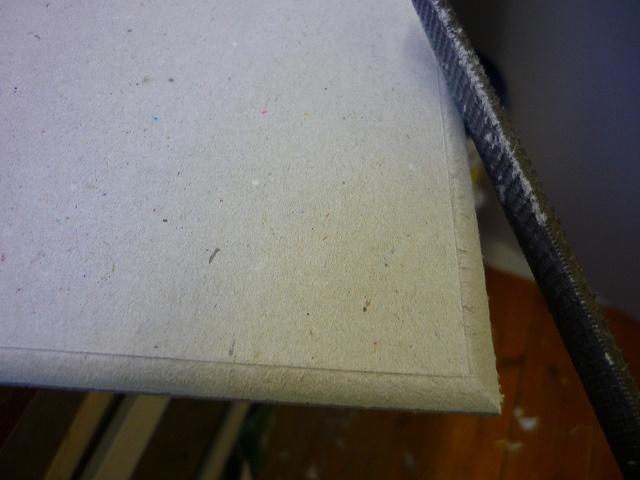 Fig 6 Bevelled edge-after