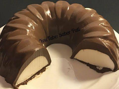Gelatina de CHOCOLATE ABUELITA con relleno de queso philadelphia- Jenny Salas - YouTube