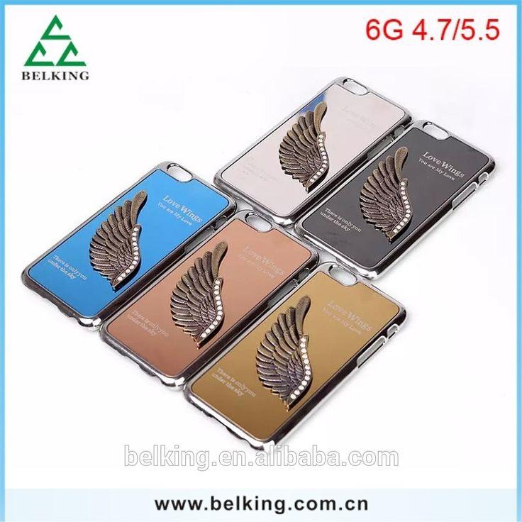 Luxury 3D Wing Aluminum Metal Hard case for iphone 6 plus 5.5inch