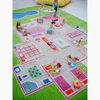 Classroom Rugs Safe Playing Family Themed Interactive Play Rug for Kids Playroom