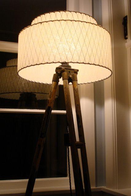 tripod lampshade