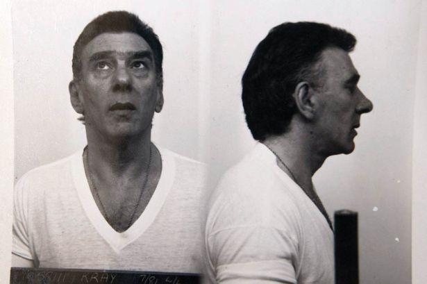 A Reggie Kray prison mugshot