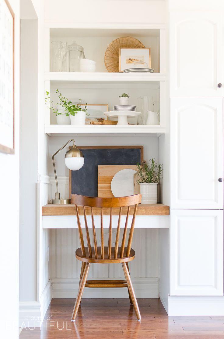Summer Home Tour | Relaxed Modern Farmhouse Kitchen - A Burst of Beautiful