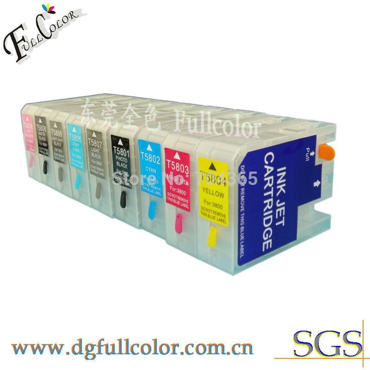 146.78$  Buy now - http://ali6qw.worldwells.pw/go.php?t=1903266617 - Free shipping Bulk refillable 3800 ink cartridge with ink and  reset chip for 3800 wide format printer 146.78$