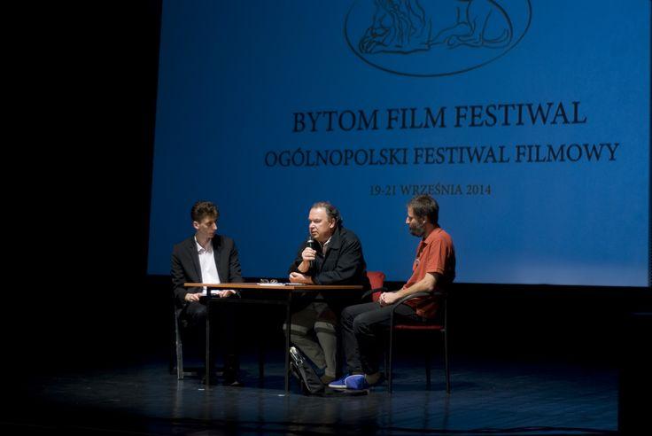 Bytom Film Festiwal 2014│jednym z gości specjalnych był Lech Majewski │fot. Agnieszka Bieda