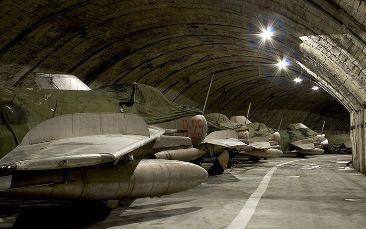 Military Underground Bases for Sale: