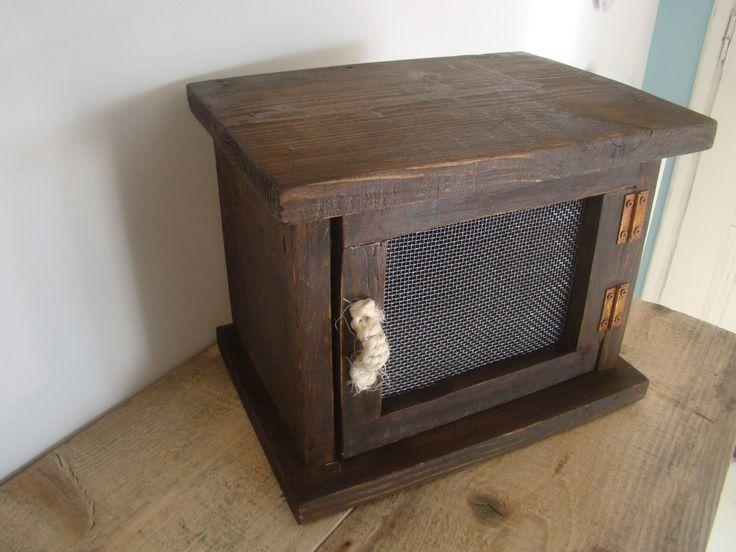 handmade wood decor box rustic by demetradaskloupo on Etsy