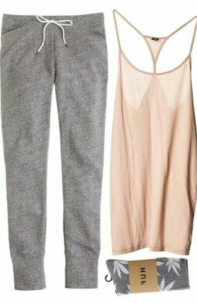 """""""Softly"""" by vv0lf on Polyvore  Love this for home/loungewear"""