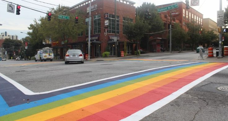 """Atlanta Mayor Kasim Reed chose the first anniversary of the Pulse shooting to announce some significant news– the city is installing permanent rainbow crosswalks at the intersection of 10th Street and Piedmont Avenue. Reed made the announcement Monday via press release: """"On June 12, 2016, amidst the celebration of Pride Month, 49 individuals lost their …"""