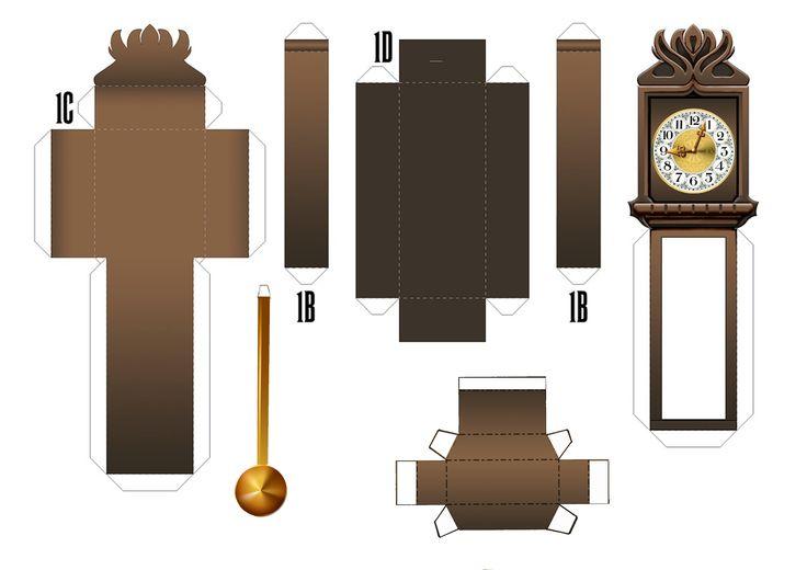 My version of My Grandfather clock Template - Modify from Disney Demon Clock