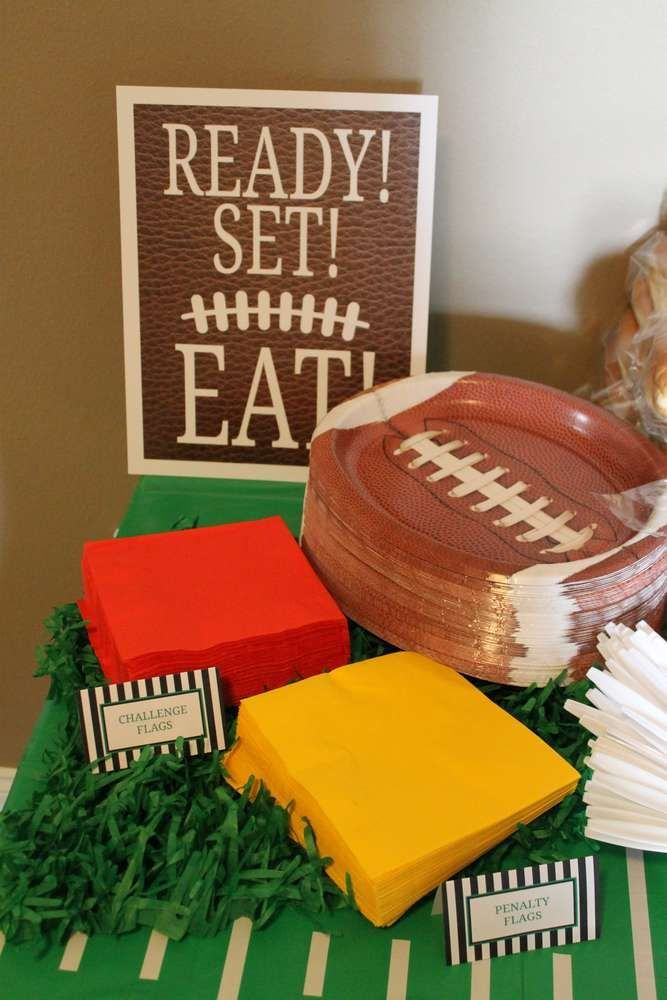 Football Birthday Party Ideas | Photo 1 of 39 | Catch My Party
