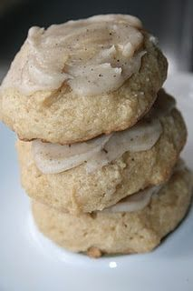Soft, melt in your mouth, brown sugar cookies. Made these today-yum!! Diane