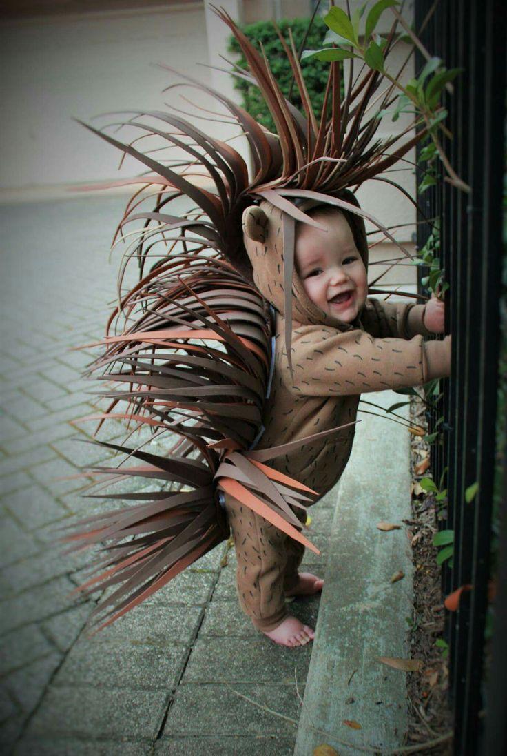 Porcupine halloween costume diy 2016