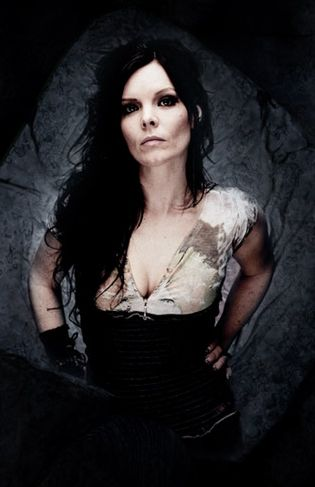 Anette Olzon former singer of Nightwish