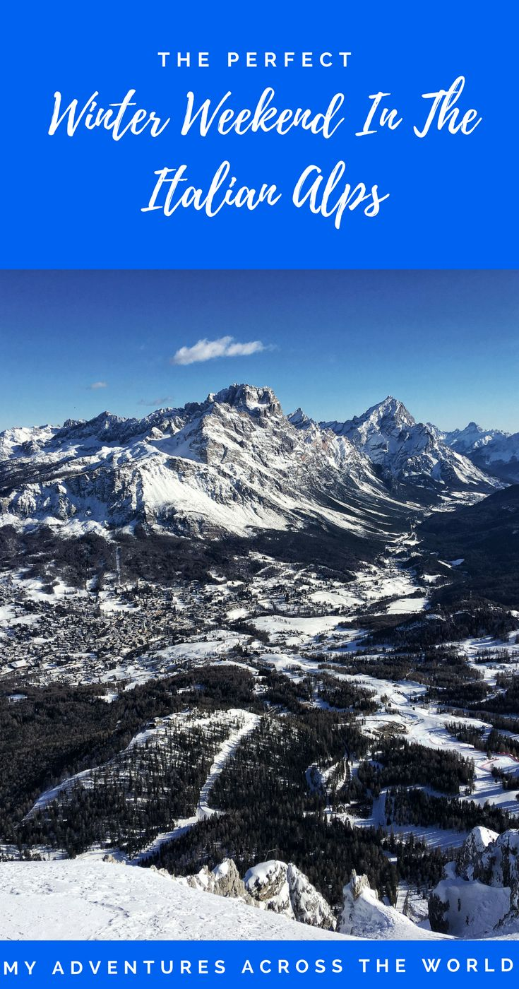 When thinking of a fabulous winter break, consider going to Cortina, in the Italian Alps. Here's a few tips to organize the perfect winter weekend   #italy #skiing #winter
