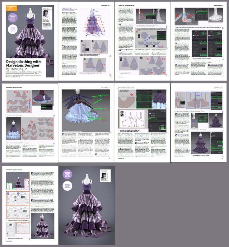ArtStation - Marvelous Designer Tutorial for 3DCreative, Jeen Lih Lun