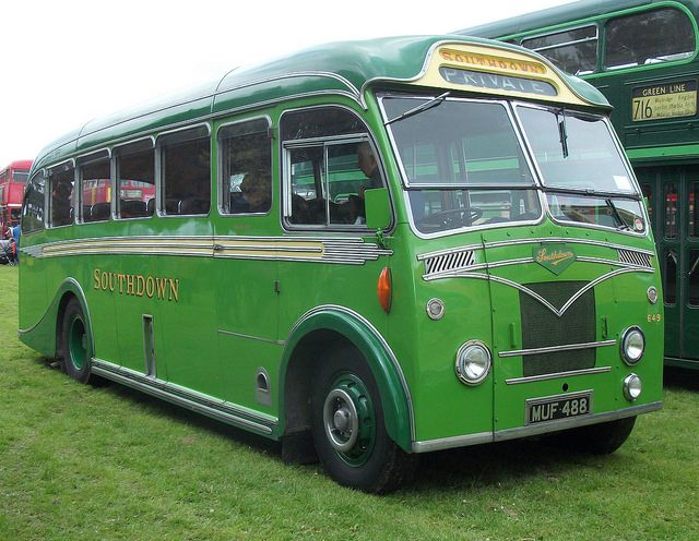 1953 Leyland Tiger coach