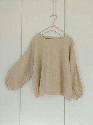 d2965253a90e4 七分袖の直線ブラウスの作り方|ソーイング|編み物・手芸・ソーイング