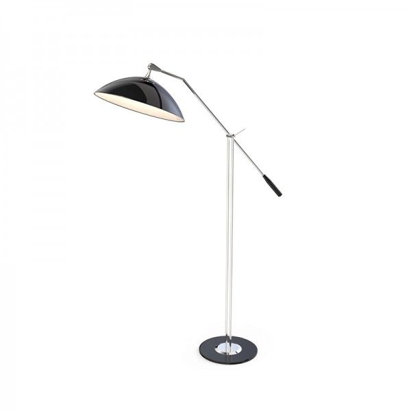 Inspired By The First Person To Walk On The Moon Armstrong Arc Floor Lamp Has A Minimalistic Style With A Clear U With Images Floor Lamp Lamp Modern Lamp Design