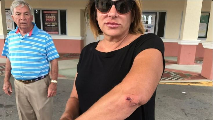Woman Attacked by Hillary Clinton Supporter  Near Polling Place In Florida…