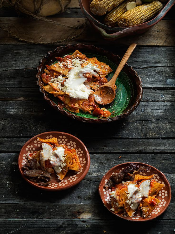 Chilaquiles rojos authentic mexican recipes chilaquiles