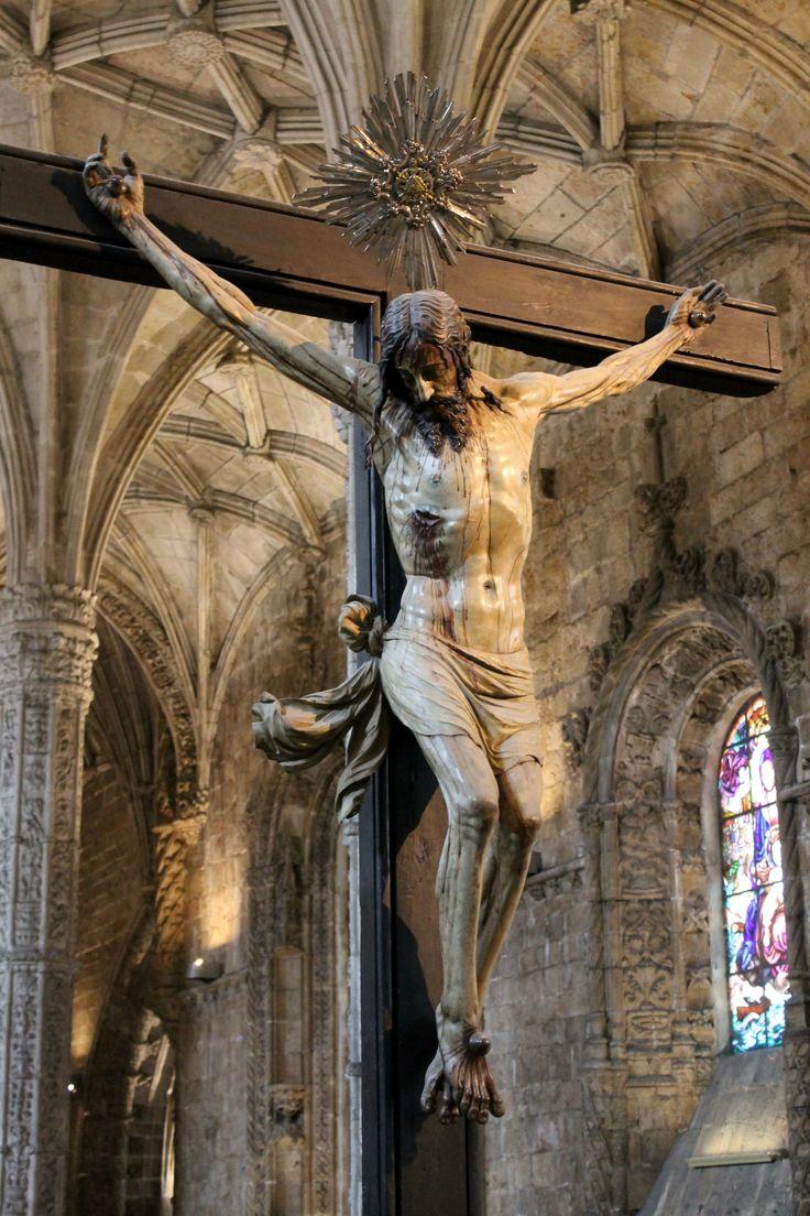 """echiromani: """" Capitular crucifix, Mosteiro dos Jerónimos. """""""