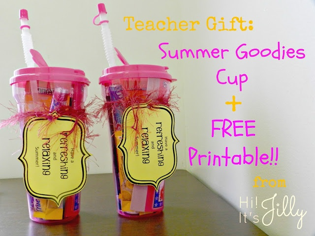 78 Images About Summer Teacher Appreciation On Pinterest