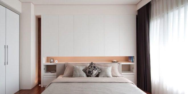طريقة ترتيب غرف النوم السرير الخزانة الدولاب والتسريحة بالصور Room Home Decor Bed