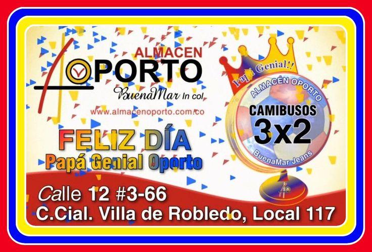 Junio es #CopaAmérica y #PapáGenialOporto #Cartago #Pereira