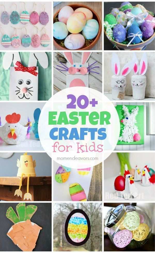 20+ Cute Easter Crafts for Kids