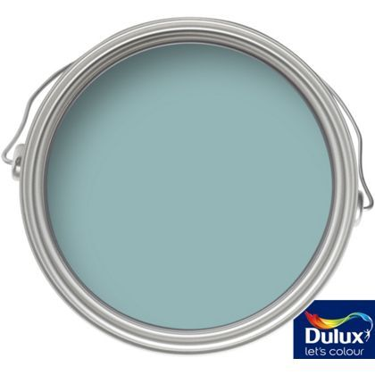dulux blue reflection matt emulsion paint 2 5l at. Black Bedroom Furniture Sets. Home Design Ideas